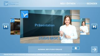MASTERSOLUTION SHOW - Studioauswahl