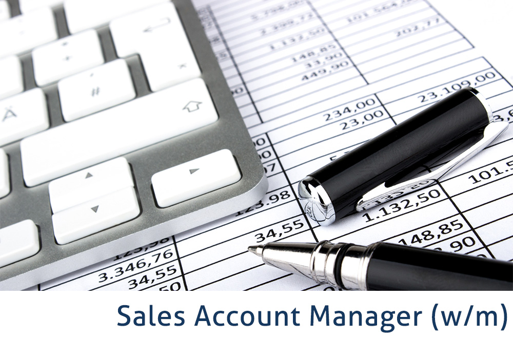 Sales Account Manager (w/m)